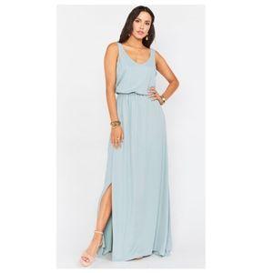 NWOT Show Me Your Mum Kendall Maxi Dress, Sage, XS